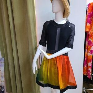 Jonathan Saunders Silk Dress